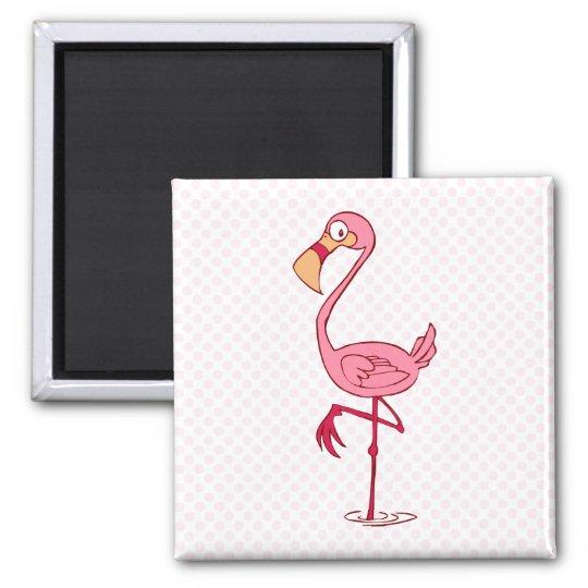 Finny Flamingo Magnet