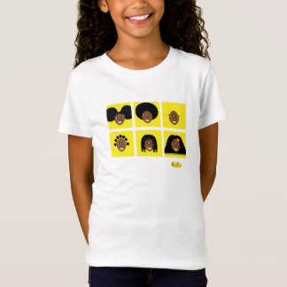 Fino I Love My Hair T-Shirt Yellow