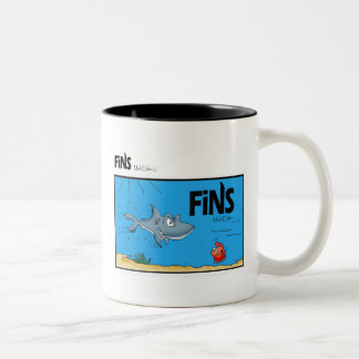 Fins Comic Coffee Mug 2