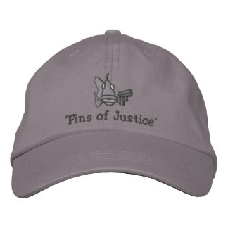 'Fins of Justice' - Embroidered Hat