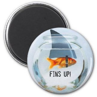 fins up! magnet