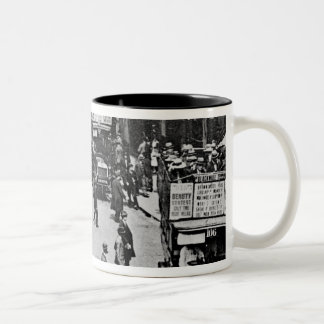 Finsbury Park Station, c.1923 Two-Tone Coffee Mug