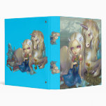 Fiona and the Unicorn BINDER fantasy fairy horse