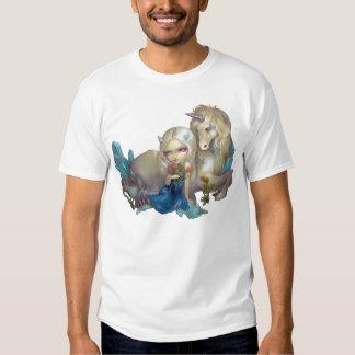 Fiona and the Unicorn SHIRT fantasy fairy horse