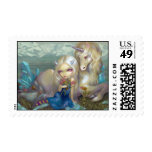 """Fiona and the Unicorn"" Stamp"