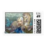 """Fiona and the Unicorn"" Stamp"
