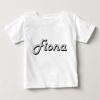 Fiona Classic Retro Name Design Infant T-shirt