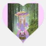 Fiona Heart Sticker