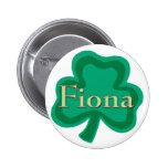Fiona Irish 2 Inch Round Button