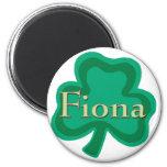 Fiona Irish 2 Inch Round Magnet
