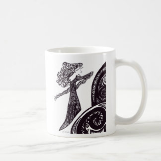 Fiona Classic White Coffee Mug