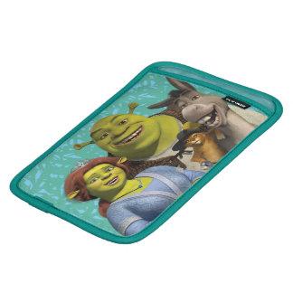 Fiona, Shrek, Puss en botas, y burro Funda De iPad Mini
