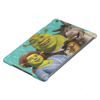 Fiona, Shrek, Puss In Boots, And Donkey iPad Air Covers