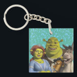 "Fiona, Shrek, Puss In Boots, And Donkey Keychain<br><div class=""desc"">Check out these Fiona, Shrek, Puss In Boots, And Donkey products! Personalize your own Shrek merchandise on Zazzle.com! Click the Customize button to insert your own name or text to make a unique product. Try adding text using various fonts &amp; view a preview of your design! Zazzle&#39;s easy to customize...</div>"