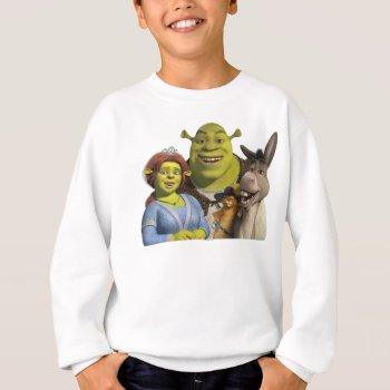 Fiona  Shrek  Puss In Boots  And Donkey Sweatshirt by ShrekStore at Zazzle