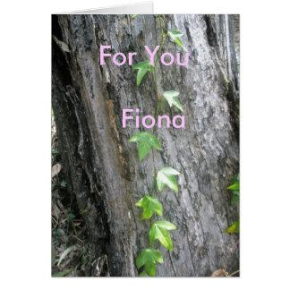 Fiona Tarjeta De Felicitación