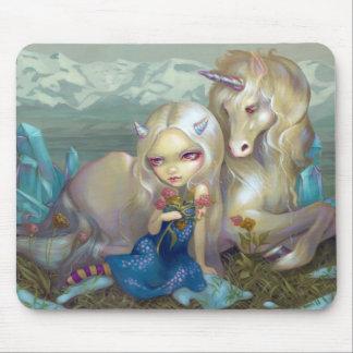 """""""Fiona y el unicornio"""" Mousepad"""