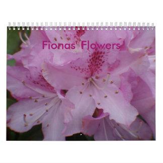 Fionas' Flowers Calendar