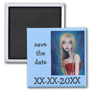 Fionn Uisce 2 Inch Square Magnet