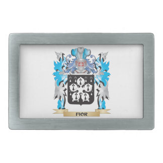 Fior Coat of Arms - Family Crest Belt Buckles