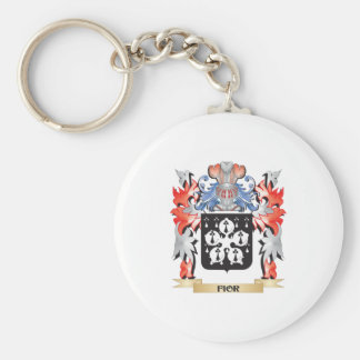 Fior Coat of Arms - Family Crest Keychain