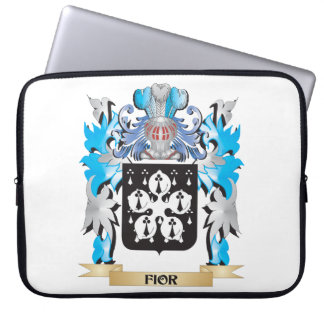Fior Coat of Arms - Family Crest Laptop Sleeve