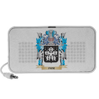 Fior Coat of Arms - Family Crest Laptop Speakers