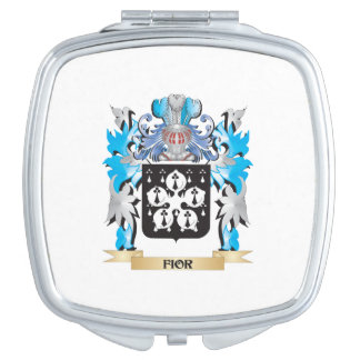 Fior Coat of Arms - Family Crest Travel Mirrors
