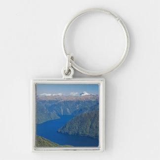 Fiord del sur, lago Te Anau, nacional de Fiordland Llavero Personalizado