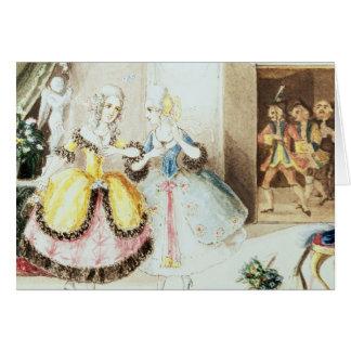 Fiordiligi and Dorabella Greeting Cards