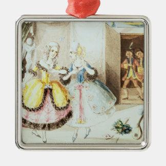 Fiordiligi and Dorabella Christmas Ornaments