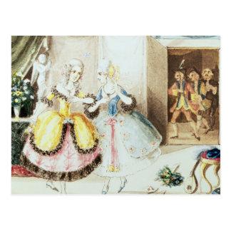 Fiordiligi and Dorabella Postcards
