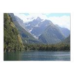 """Fiordland National Park, New Zealand 5"""" X 7"""" Invitation Card"""