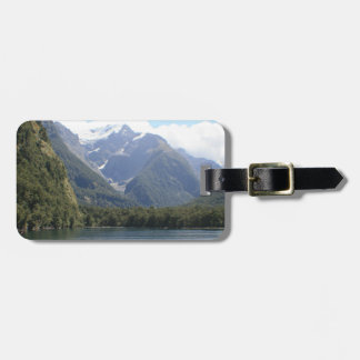 Fiordland National Park, New Zealand Luggage Tag