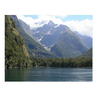Fiordland National Park, New Zealand Postcard