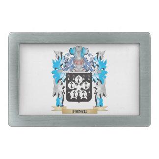 Fiore Coat of Arms - Family Crest Rectangular Belt Buckles