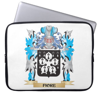 Fiore Coat of Arms - Family Crest Laptop Sleeve