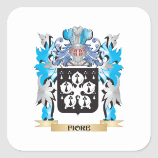 Fiore Coat of Arms - Family Crest Stickers