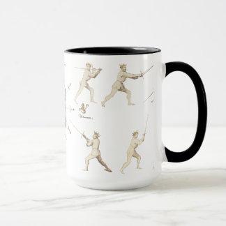 Fiore dei Liberi Coffee Mug