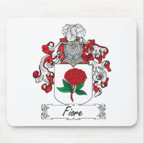 Fiore Family Crest Mousepad