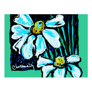 Fiore, Floral Art Products Postcard