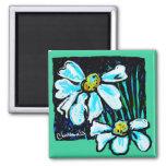 Fiore, productos florales del arte imanes para frigoríficos