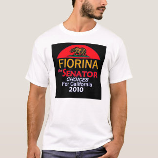 Fiorina 2010 California T-Shirt