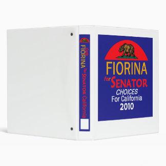 Fiorina 2010 Senator Avery Binder