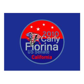 Fiorina 2010 Senator Postcard