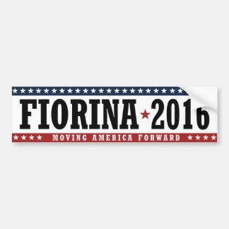 Fiorina 2016 Moving America Forward Bumper -.png Bumper Sticker