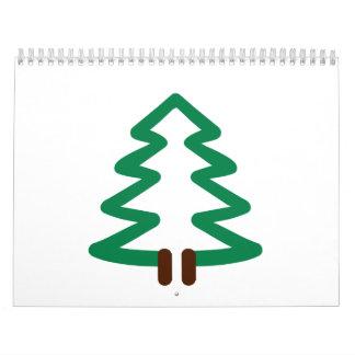 Fir tree calendar