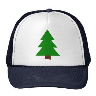 Fir tree trucker hat