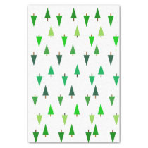Fir Trees Tissue Paper