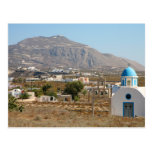 Fira, isla de Santorini, Grecia Postal